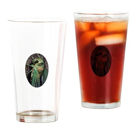 Cicada Drinking Glass