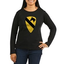 1st Cavalry Division Women's Long Sleeve Dark Tee