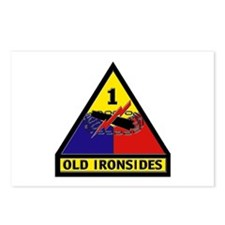 1st Armored Division Postcards (Package of 8)