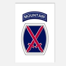 10th Mountain Postcards (Package of 8)