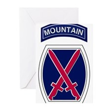10th Mountain Greeting Cards (Pk of 10)
