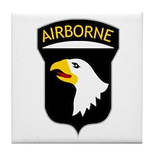 101st Airborne Tile Coaster