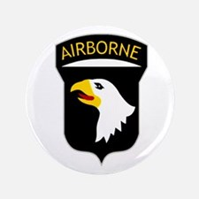 """101st Airborne 3.5"""" Button"""