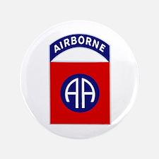 """82nd Airborne 3.5"""" Button"""