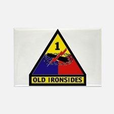 1st Armored Division Rectangle Magnet