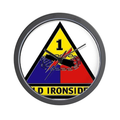 1st Armored Division Wall Clock
