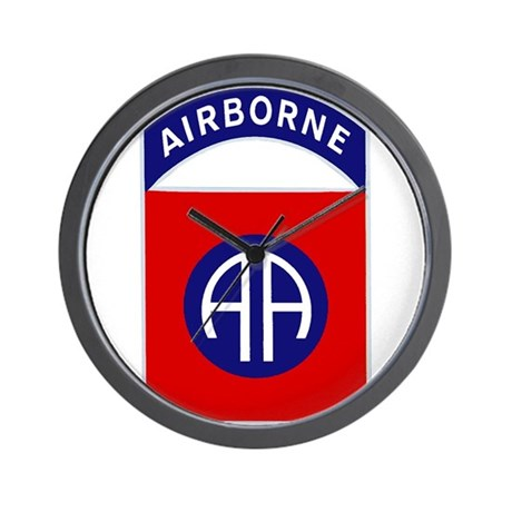 82nd Airborne Wall Clock