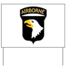 101st Airborne Yard Sign