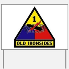 1st Armored Division Yard Sign