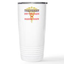 Marine Corps Corpsmen Travel Mug