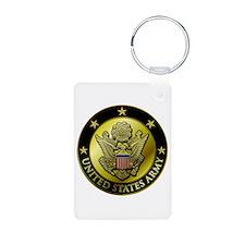 Army Black Logo Keychains