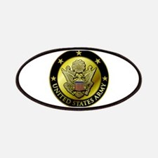 Army Black Logo Patches