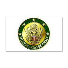 Army Green Logo Car Magnet 20 X 12