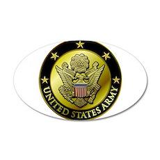 Army Black Logo Wall Decal
