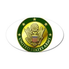 Army Green Logo Wall Decal