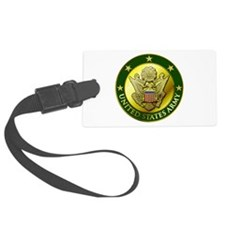 Army Green Logo Luggage Tag