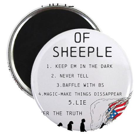 OYOOS Sheeple design Magnet