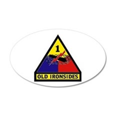 1st Armored Division Wall Decal