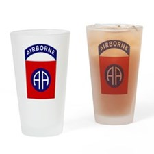 82nd Airborne Drinking Glass