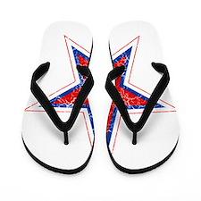 Russia Roundel Flip Flops