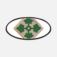 Fourth Infantry Div. Patches