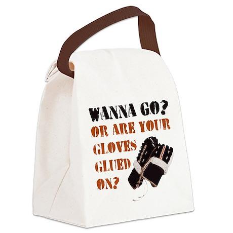 Hockey Enforcer Goon Canvas Lunch Bag