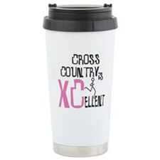 Pink Xc Cross Country Travel Mug
