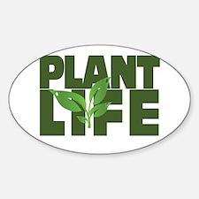 Plant Life Sticker (Oval)