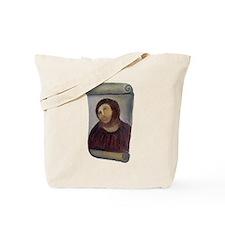 Jesus Fresco Tote Bag