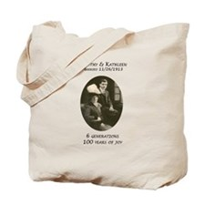 Tim Kits 100th Tote Bag