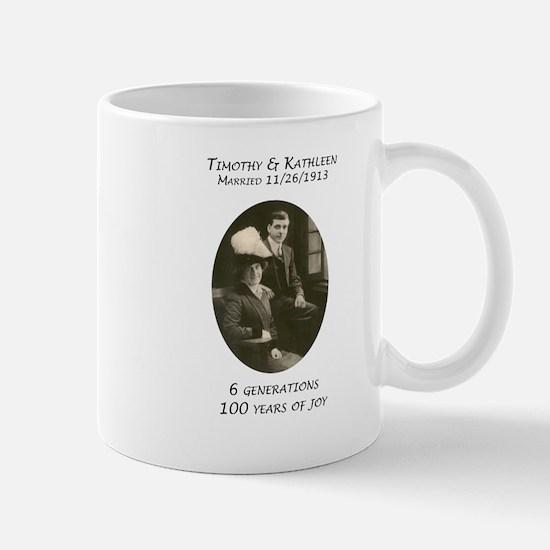 Tim Kits 100th Mug