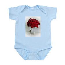 red dad rose Infant Bodysuit
