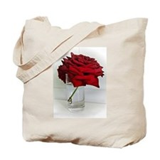 red dad rose Tote Bag