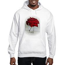 red dad rose Hoodie