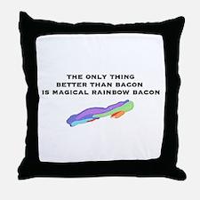 Magical Bacon Throw Pillow