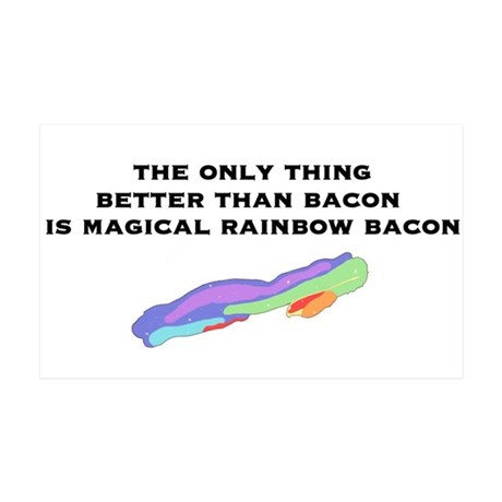 Magical Bacon 35x21 Wall Decal