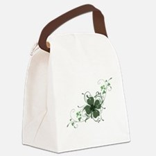 Elegant Shamrock Design.png Canvas Lunch Bag