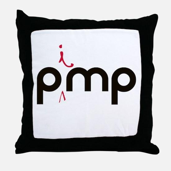 PiMP Pocket.png Throw Pillow