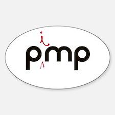PiMP Pocket.png Sticker (Oval)