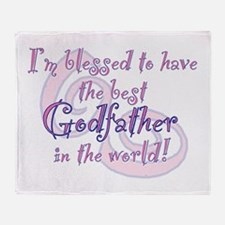 Blessed Godfather PK Throw Blanket