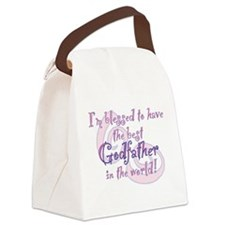 Blessed Godfather PK Canvas Lunch Bag