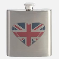 Union Jack Heart.png Flask