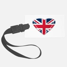 Union Jack Heart.png Luggage Tag