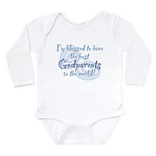 Blessed Godparent BL Long Sleeve Infant Bodysuit