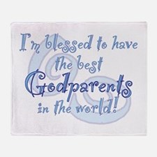 Blessed Godparent BL Throw Blanket