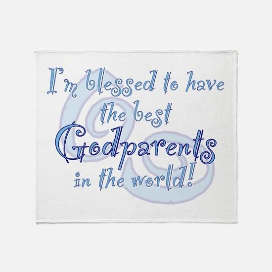 Blessed Godparent BL Throw Blanket