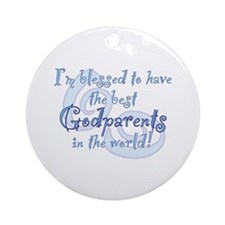 Blessed Godparent BL Ornament (Round)