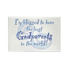 Blessed Godparent BL Rectangle Magnet