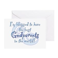 Blessed Godparent BL Greeting Card