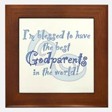 Blessed Godparent BL Framed Tile